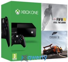 Microsoft Xbox ONE + FIFA 15 + FORZA 5