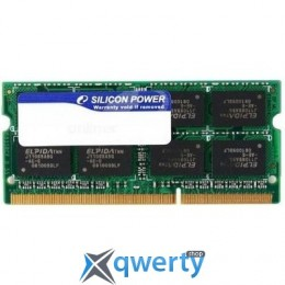 4 GB SO-DIMM DDR3 1333 MHz Silicon Power (SP004GBSTU133N02)