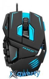 Mad Catz M.M.O. TE Gaming Mouse Matte Black (MCB437140002/04/1)