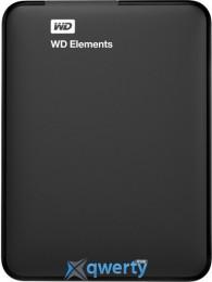Жесткий диск Western Digital Elements 1TB 2.5 USB 3.0 External Black (WDBUZG0010BBK-EESN)