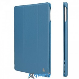 JISONCASE Ultra-Thin Smart Case for iPad Air Blue (JS-ID5-09T45))