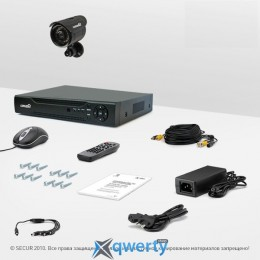Комплект видеонаблюдения «установи сам» Страж Контрол 1У+ (УЛ-420С-1)