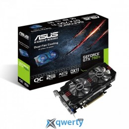 ASUS GeForce GTX750 Ti 2048Mb OC (GTX750TI-OC-2GD5)