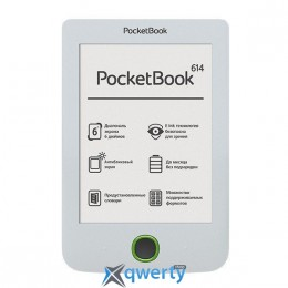 PocketBook 614 Basic 2 White (PB614-D-CIS)