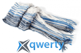 Шарф BMW Scarf White-Blue 80 16 2 211 550