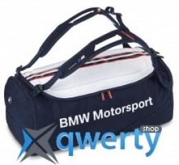 Спортивная сумка BMW Motorsport Sports Bag Blue White 80 22 2 318 276