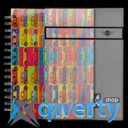 Блокнот Mini Pop Art Style Wiro Notebook 80 28 2 318 615