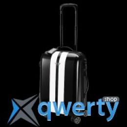 Чемодан Mini Rooftop Cabin Trolley Black with white racing stripes 80 22 2 318 628