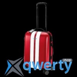 Чемодан Mini Rooftop Cabin Trolley Chilli Red with white racing stripes 80 22 2 318 629