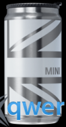 Термостакан Mini Union Jack Thermos Can White 80 28 2 345 774