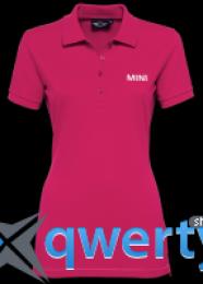 Женская рубашка-поло Mini Ladies' Wordmark Polo Berry 80 14 2 338 878