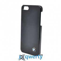 CG Mobile BMW Hard Case Shiny Finish Black for iPhone 5/5S (BMHCP5SB)