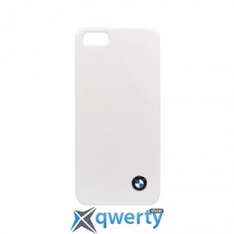 CG Mobile BMW Hard Case Shiny Finish White for iPhone 5/5S (BMHCP5SW)