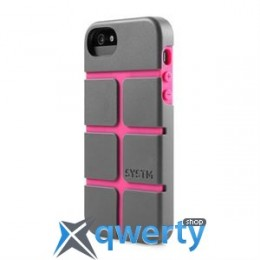 Incase SYSTM Chisel Case Asphalt/Pink for iPhone 5/5S (SY10033)