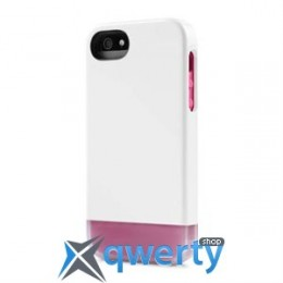 Incase Shock Slider Case White/Frost/Magenta for iPhone 5/5S (CL69073)
