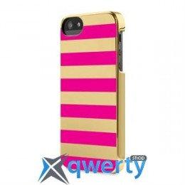 Incase Snap Case Chevron Chrome/Gold for iPhone 5/5S (CL69156)
