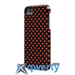 Incase Snap Case Multi Hearts Black for iPhone 5/5S (CL69185)