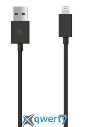 Incase 8 Sync and Charge Lightning Cable Black (EC20097)