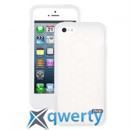 Moshi Origo Silicone Case White for iPhone 5/5S (99MO050102)