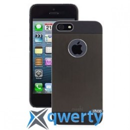 Moshi iGlaze Armour Metal Case Black for iPhone 5/5S (99MO061002)