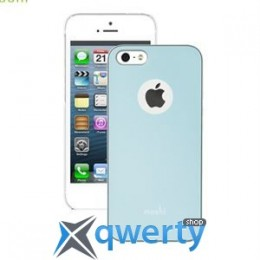 Moshi iGlaze Slim Case Coral Blue for iPhone 5/5S (99MO061501)