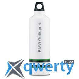 Бутылочка для воды с защитным чехлом BMW Golfsport Drinking Bottle White 80 23 2 333 797
