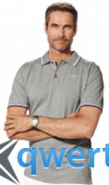 Мужская рубашка-поло BMW Collection Men's Polo Shirt grey 80 33 2 155 192