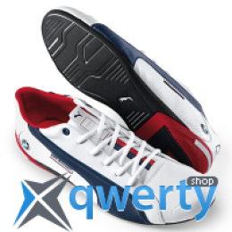 Спортивные туфли BMW Motorsport NYTER Unisex Sneaker White Dark Blue 80 16 2 318 286