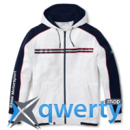 Мужская спортивная куртка BMW Men's Motorsport Hooded Sweat Jacket White 80 14 2 318 247