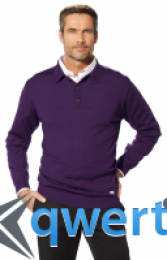 Мужской свитер BMW Collection Men's Knitted Polo Sweater purple 80 14 2 344 464