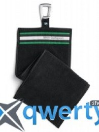Полотенце для клюшек BMW Golf Club Towel Black New 80 23 2 333 796