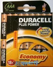 Duracell LR03 MN2400 1x18 шт. (81422470)