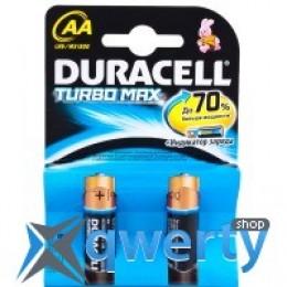 Duracell LR06 MN1500 KPD 02*20 Turbo 1x2 шт. (81417100)