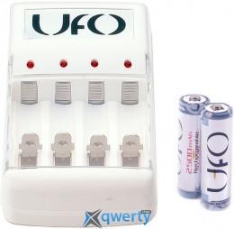 UFO KN-8003 + 2*rechar UFO HR6 Ni-MH 2500mAh PHOTO (KN-8003+2xHR AA 2500)