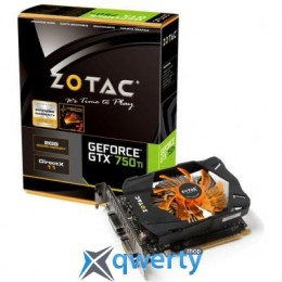 ZOTAC GeForce GTX750 Ti 2048Mb (ZT-70601-10M)