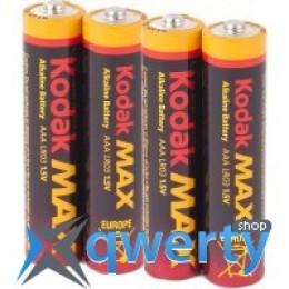 Kodak MAX LR03 1x4 шт. блистер (30952812)