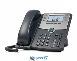 Cisco SB 8 Line IP Phone With Display, PoE and PC Port (SPA508G)