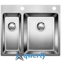 BLANCO Andano 340/180-IF-A нерж. сталь зеркальная полировка с клапаном-автоматом