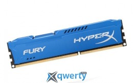 4GB DDR3 1600 MHz Kingston HyperX FURY Blue (HX316C10F/4)