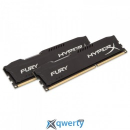 8GB DDR3 (2x4GB) 1866 MHz Kingston HyperX Fury Black (HX318C10FBK2/8)