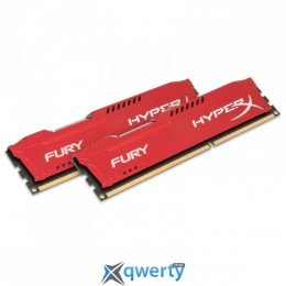 8GB DDR3 (2x4GB) 1866 MHz Kingston HyperX Fury Red (HX318C10FRK2/8) купить в Одессе