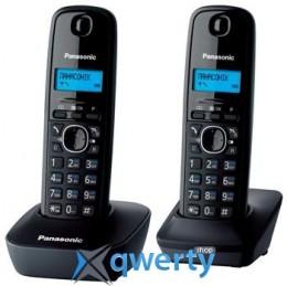Panasonic KX-TG1612UAH Black Grey