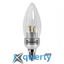 Maxus LED-272 C37 CL-C 4W 4100K 220V E14 AL (1-LED-272)