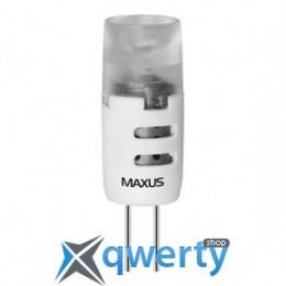 Maxus LED-277 G4 1.5W 3000K 12V AC/DC AP (1-LED-277)