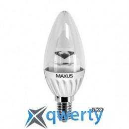 Maxus LED-279 C37 CL-C 4W 3000K 220V E14 AP (1-LED-279)