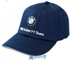 Детская бейсболка BMW Sauber F1 - Team Junior Cap Blue (80302146929)