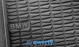 Коврики оригинальные для BMW 1 (E81. E82. E87. E88) передние резиновые (51472239583)