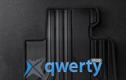 Коврики оригинальные для BMW 1 (F20) передние резиновые (черные) (51472210208)