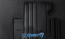 Коврики оригинальные для BMW 1 (F20) задние резиновые (черные) (51472210210)