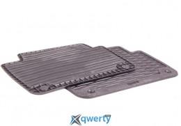 Коврики оригинальные для BMW 3 (E46) задние резиновые черные (82 55 9 408 541)